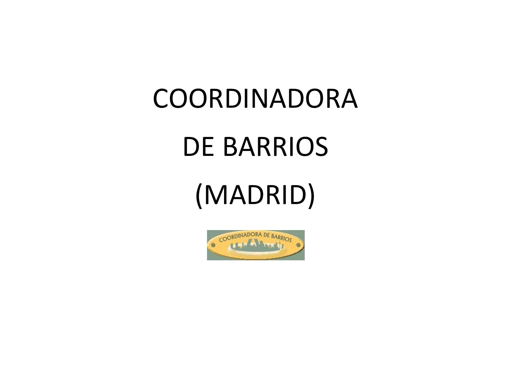 Coordinadora de Barrios (Madrid)